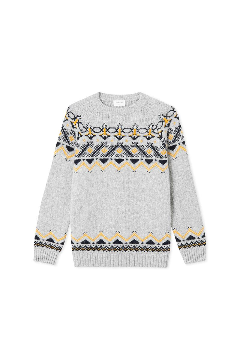 """Wood Wood Fall Winter 2019 FW19 Collection """"Come Down Easy"""" Drop Two 2 Alpine Skiing Climbing Mountain Prints Nordic Knitwear Copenhagen Based Unisex Fashion Label"""