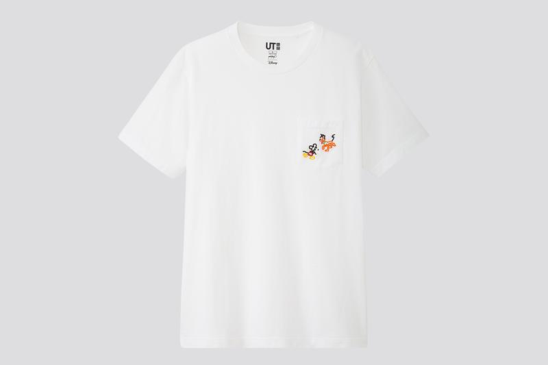 yoon hyup uniqlo ut collaboration mickey mouse capsule apparel clothes