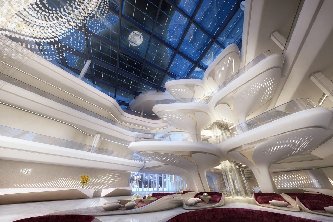 zaha hadid architects opus building dubai me by melia hotel architecture omniyat properties