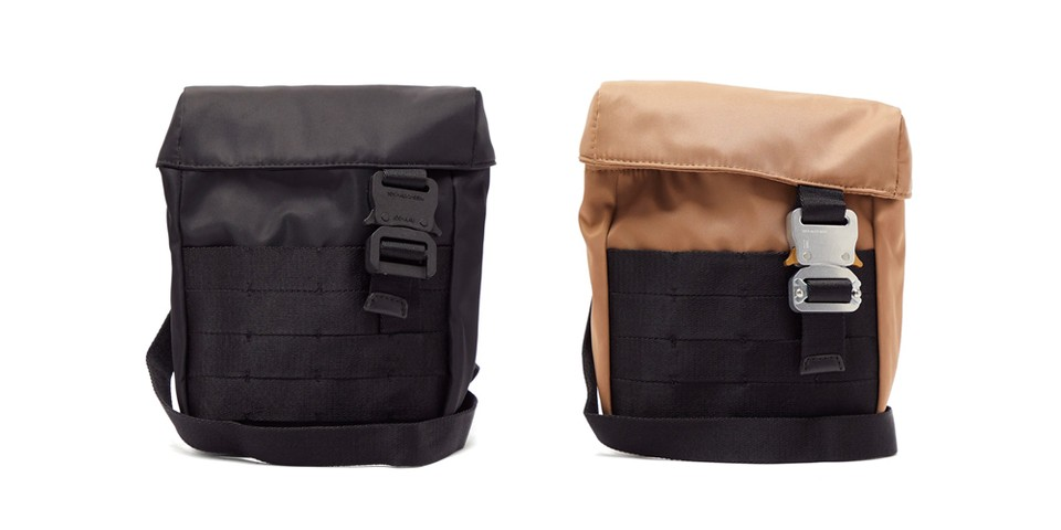 1017 ALYX 9SM's Military Shoulder Bag Is Must Have for Any Utilitarian Every Day Carry