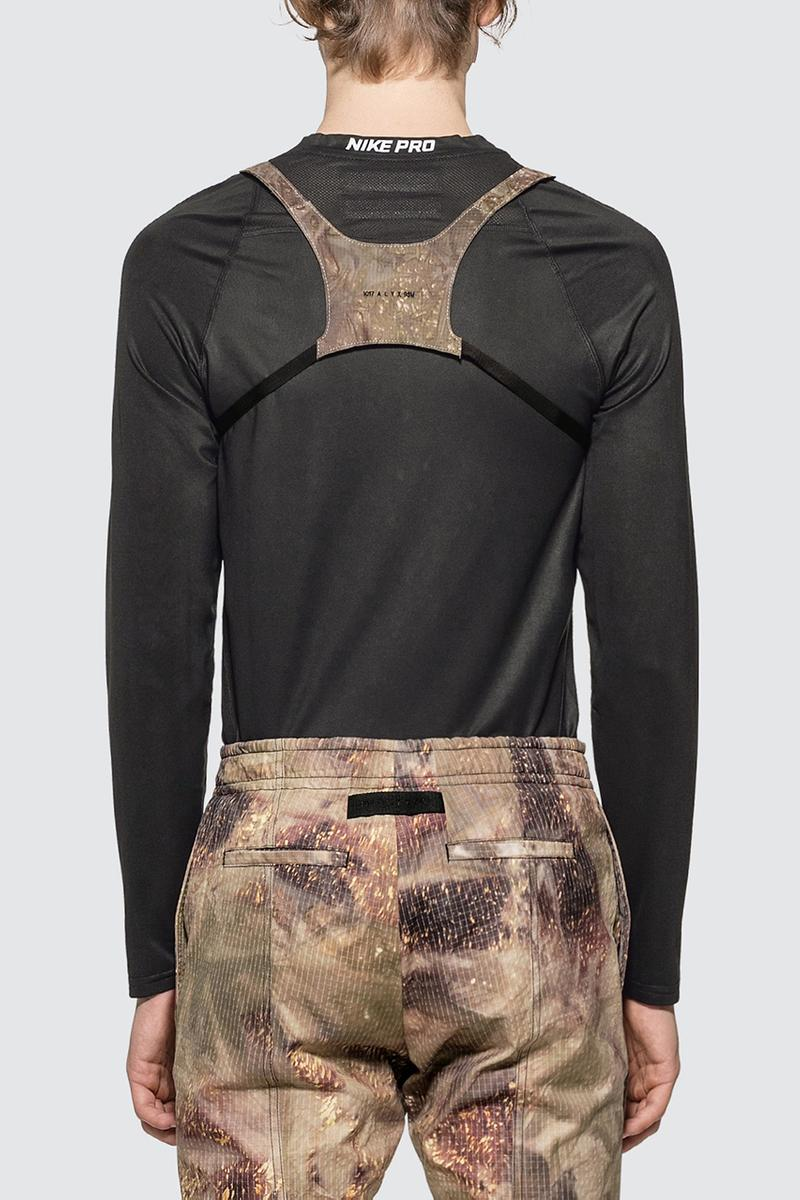 "1017 ALYX 9SM Minimal Chest Rig ""Camo Green"" Release Information Cop Online HBX Matthew M. Williams Design Small Body Cross Front Logo Embroidery Buckle Fastening Clip Rear Zip Leather Trim"