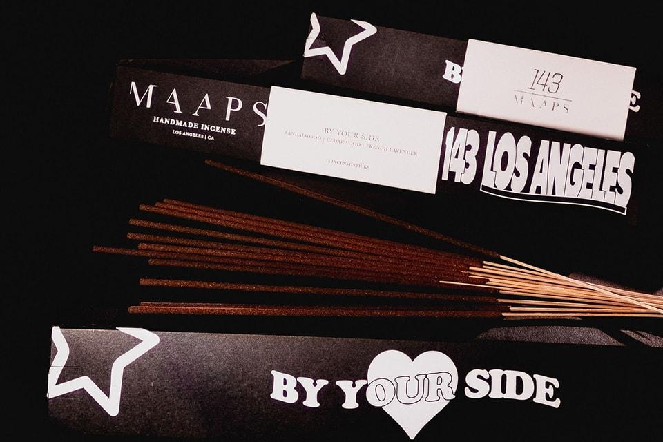 143 & MAAPS Drop Romantic Incense Set at Union LA