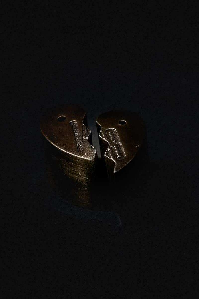 143 MAAPS By Your Side Incense Set Union LA Los Angeles Collaboration R&B Sade Sandalwood Cedar French lavender Scent Burn Heart Bronze