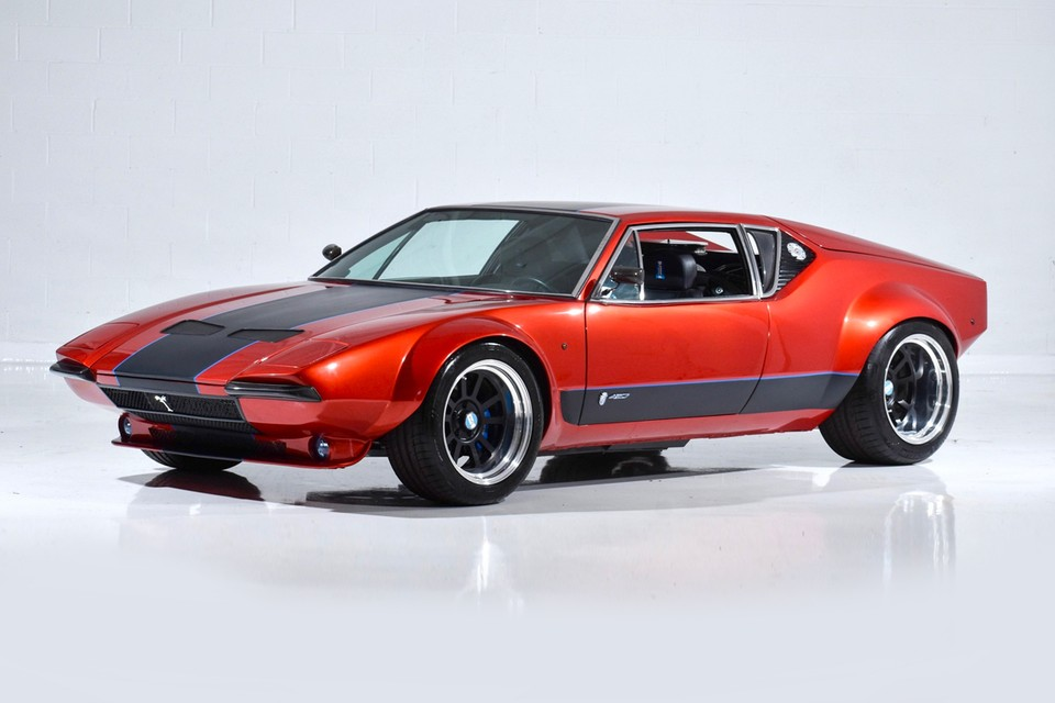 A $200,000 USD 1972 De Tomaso Pantera Is up for Sale