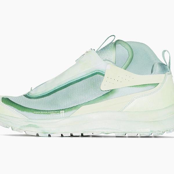 Boris Bidjan x Salomon S/Lab Green Bamba 2 Sneakers