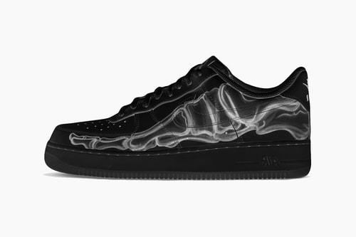 "Nike Air Force 1 '07 ""Black Skeleton"""