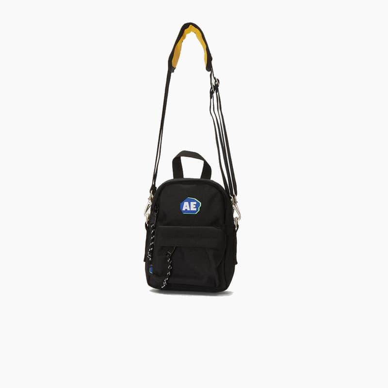 Ader Error Black Logo Cross Body Mini Bag