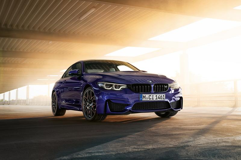 BMW 2020 M4 Edition ///M Heritage Coupe 750 units limited worldwide globally gmbh logo Laguna Seca Blue, Velvet Blue or Imola Red II carbon fiber  Competition Package Coupes