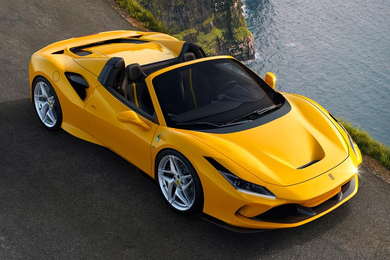 2020 Ferrari F8 Spider Unveil Info Buy Horsepower New Car Yellow Black