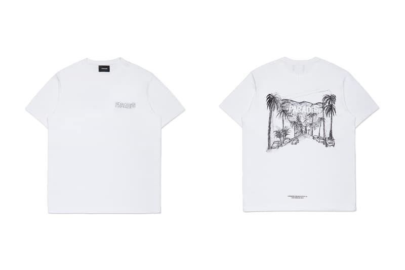 "3.PARADIS FW19 SMETS & Wild Style LA Pop-Up Capsules fall/winter 2019 collaboration t-shirts hoodies palm trees streetwear luxury fashion graphic silkscreen print FW19 ""CALAVIÑAS"""