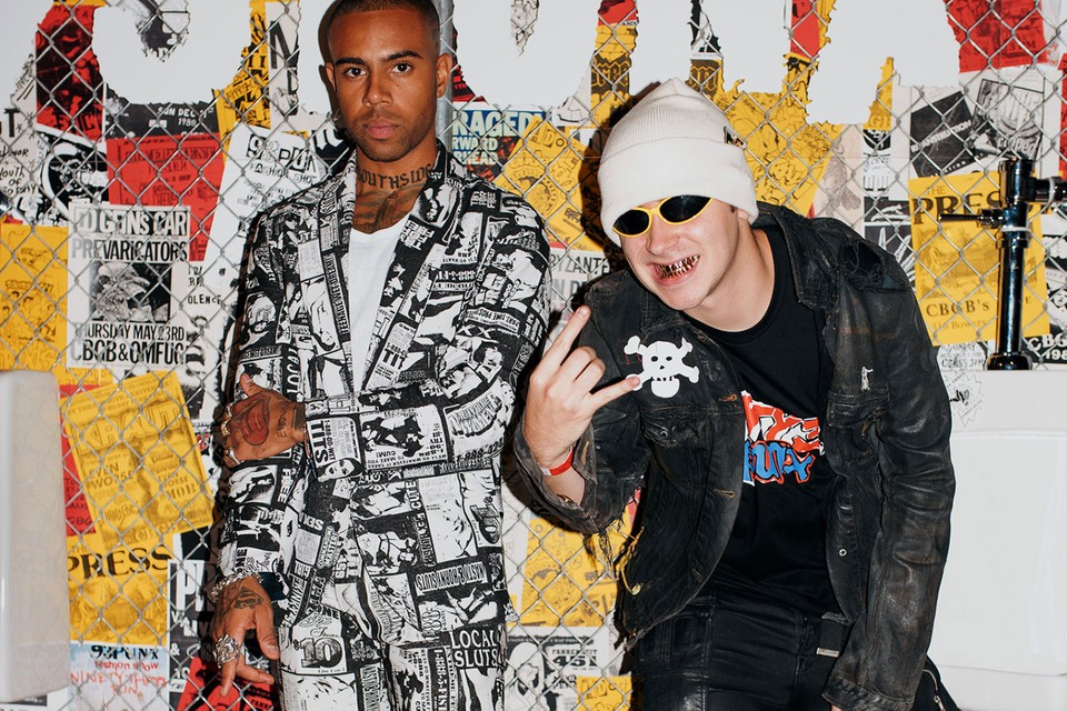 Vic Mensa's 93PUNX Capped NYFW With Explosive Punk Styling