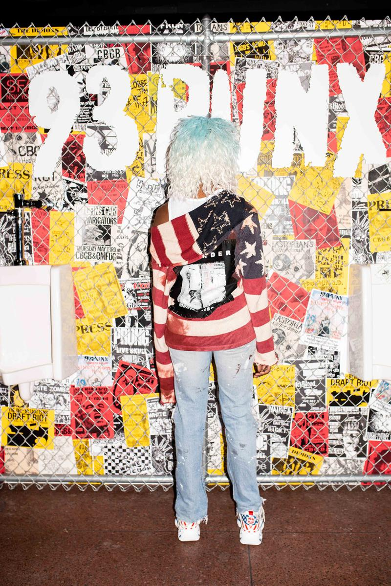 Vic Mensa's 93Punx New York Fashion Week Show lookbook style clothing collection