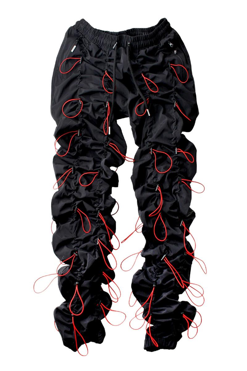 99%IS Gobchang Pants Series 3 Release Info gopchang trousers rappers style hip-hop wrinkle black white rainbow red pink gray purple 99percentis drop date price info