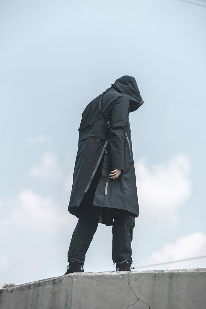ACRONYM Fall/Winter 2019 FW19 Editorial Lookbook Errolson Hugh Technical Jackets GORE-TEX 3L Cargo Pants Techwear