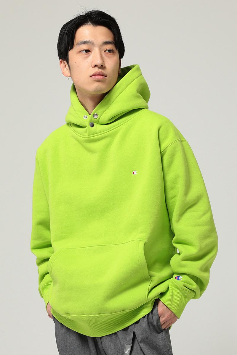 BEAMS x Champion FW19 Exclusive Collection fall winter 2019 collaboration hoodie vest sweater cardigan pullover reverse weave japan mens womens ray