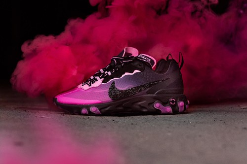 Sneaker Room & Nike Fundraise for Breast Cancer Awareness With React Element 87 Pack