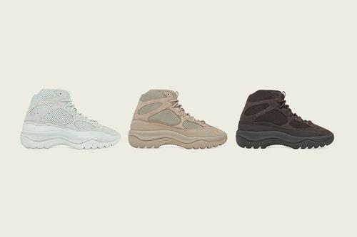 "YEEZY DSRT Boots Return in ""Salt,"" ""Rock"" and ""Oil"""