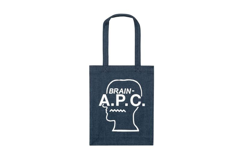 """A.P.C. x Brain Dead """"Interaction"""" Capsule fall winter 2019 collection denim hats pants bag tote kyle ng exclusive Silver Lake store los angeles future shock pop up silver lake los angeles la"""