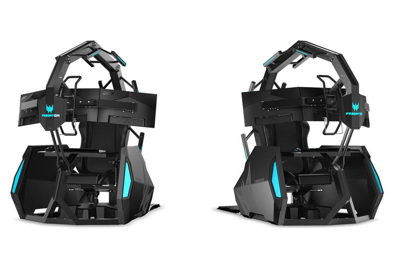 Acer Predator Thronos Air Gaming Chair Release 14000 USD video games computer PC