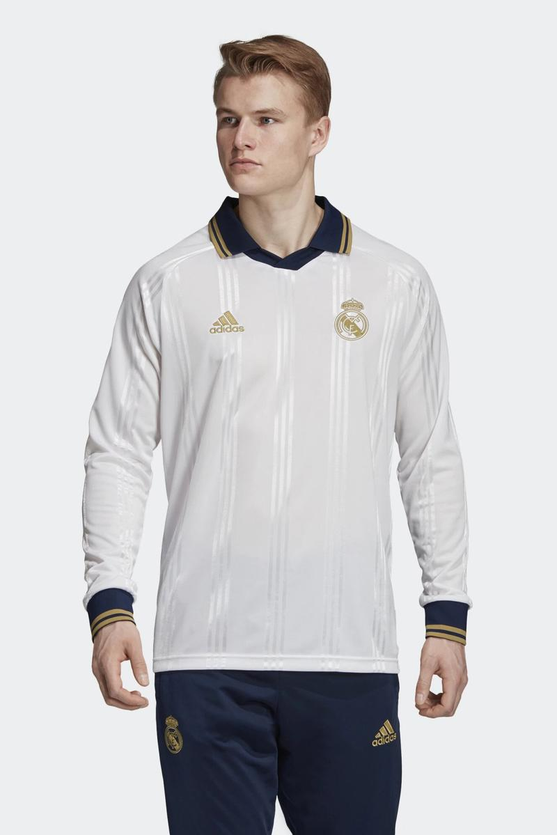 adidas 2019 Icon Jerseys Collection lookbook football soccer real madrid arsenal juventus manchester united Bayern Munich