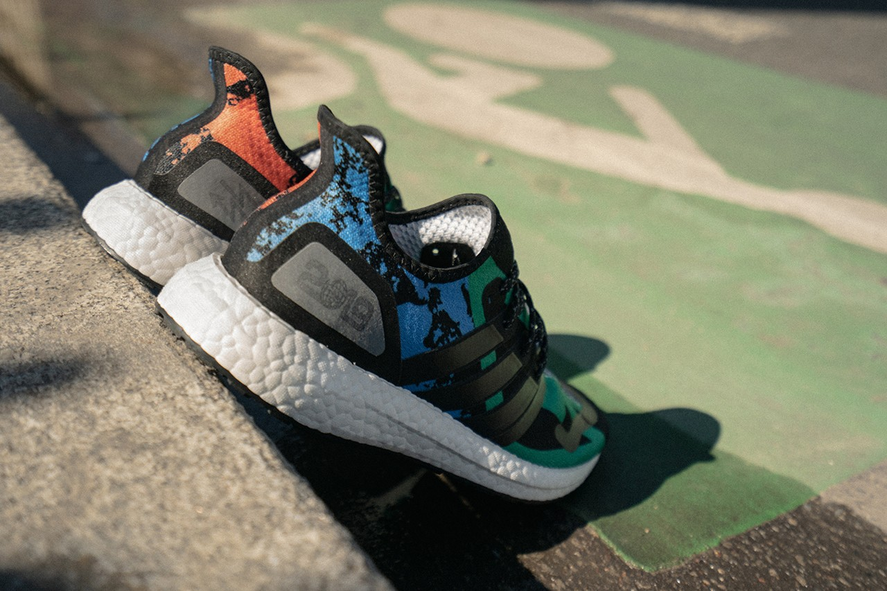 adidas and Foot Locker Unveil SPEEDFACTORY AM4 UB Paris Design Pattern Color City Surface Production Technology Streetwear