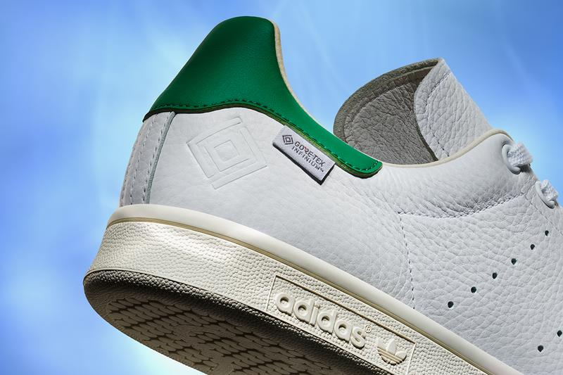 adidas Originals Stan Smith GORE-TEX Infinium Thermium Release Information First Look White Green Tennis Sneaker Shoe Classic OG Retro Three Stripes