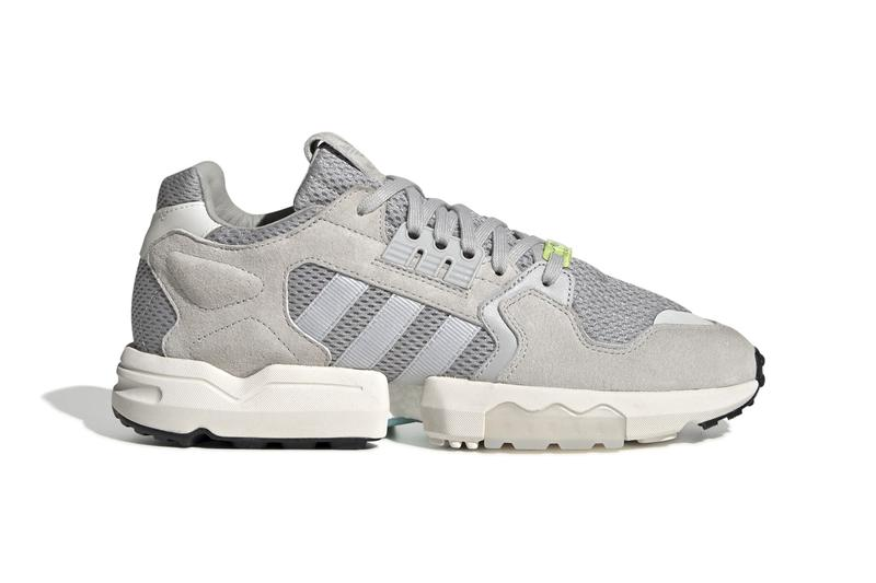 "adidas Originals ZX Torsion ""Grey Two"" ""Chalk White"" ""Core Black"" Footwear Sneaker Release Information BOOST Equipped Retro Three Stripes Clean Fall Winter 2019 Shoes"