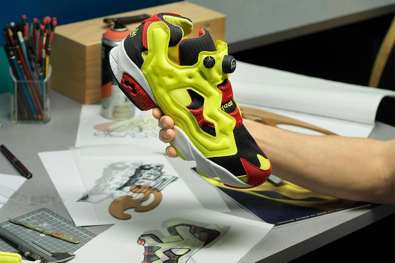 adidas x Reebok Instapump Fury BOOST Sneaker release date info collaboration sole prototype atmos con october 5 2019 first look