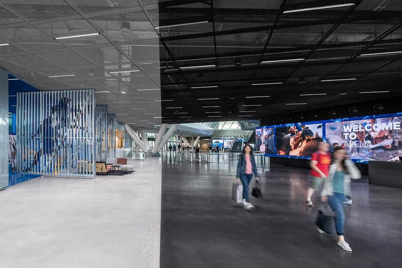 Look Inside adidas World of Sports ARENA Herzogenaurach Germany Headquarters