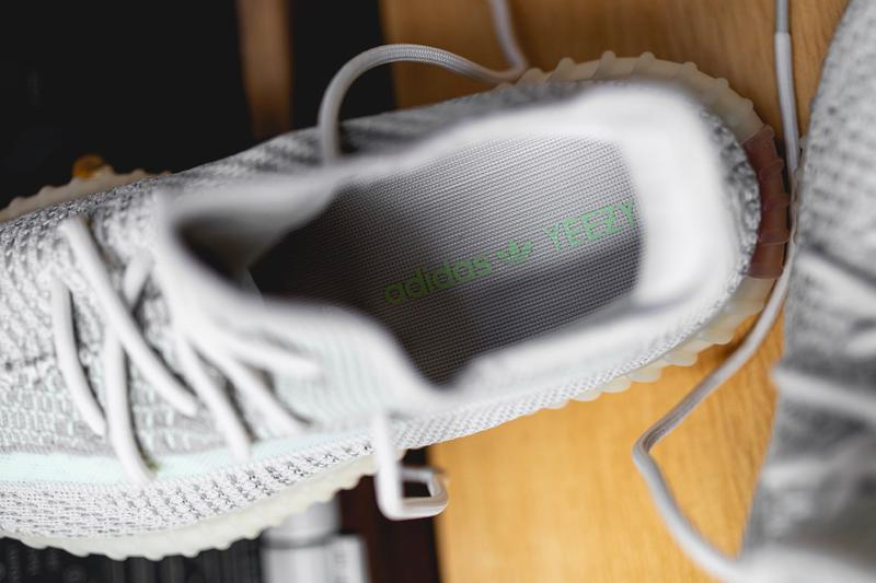 adidas YEEZY BOOST 350 V2 Cloud White Citrin Closer Look Info Release Date Kanye West Buy