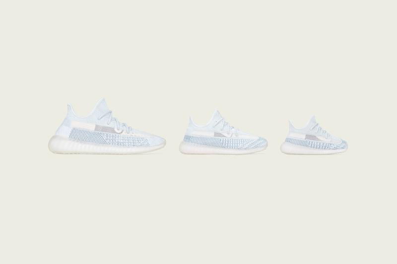 "adidas YEEZY BOOST 350 V2 ""Cloud White"" sneaker release where to buy price 2019"