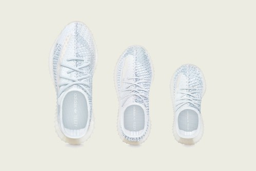 "adidas YEEZY BOOST 350 V2 ""Cloud White"" Releasing in Full Family Sizing"