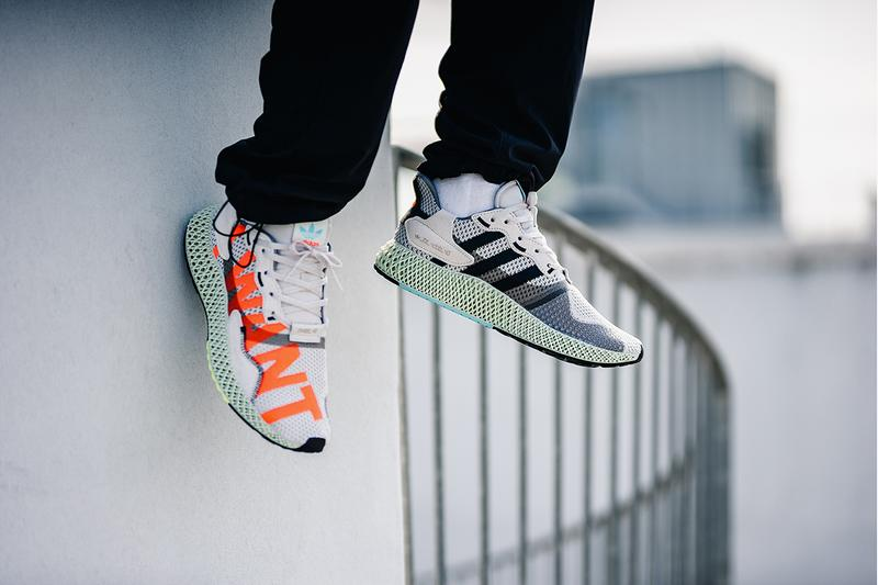 "adidas ZX 4000 4D ""I Want I Can"" Sneaker Release Information Drop Cop Online Light Liquid Resin Oxygen Technology Retro Futuristic Footwear EF9624"