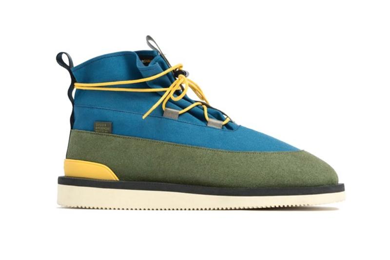 Aimé Leon Dore x Suicoke Hobbs Boots Fall Winter 2019 Collaborations footwear Teddy Santis yellow grey blue grey green all black