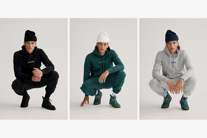 "Aimé Leon Dore ""Uniform Program"" Fall/Winter 2019 FW19 Collection Capsule Lookbook Drop First Look Sweatshirts Sweatpants Sweaters Beanies Minimalistic Branding Cut and Sewn 17oz 100% Cotton French Terry Cotton Waffle Thermals"