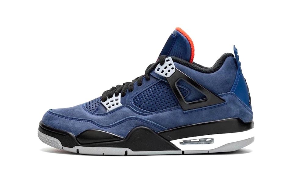 "Air Jordan 4 WNTR ""Loyal Blue"" Is a Winter-Ready Take on the Classic Model"