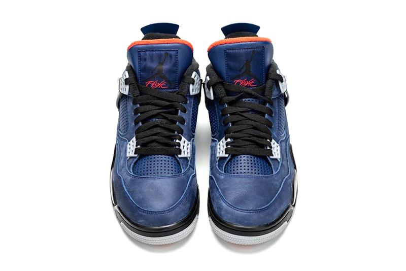 Air Jordan 4 WNTR Loyal Blue Brand Release Info Date Buy CQ9597-401 Suede Winter grey red