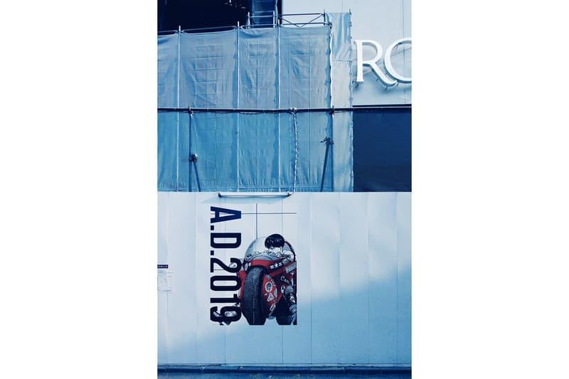 AKIRA ART WALL PROJECT Katsuhiro Otomo Kosuke Kawamura PARCO MUSEUM Shibuya Parco GALLERY X Akira Manga