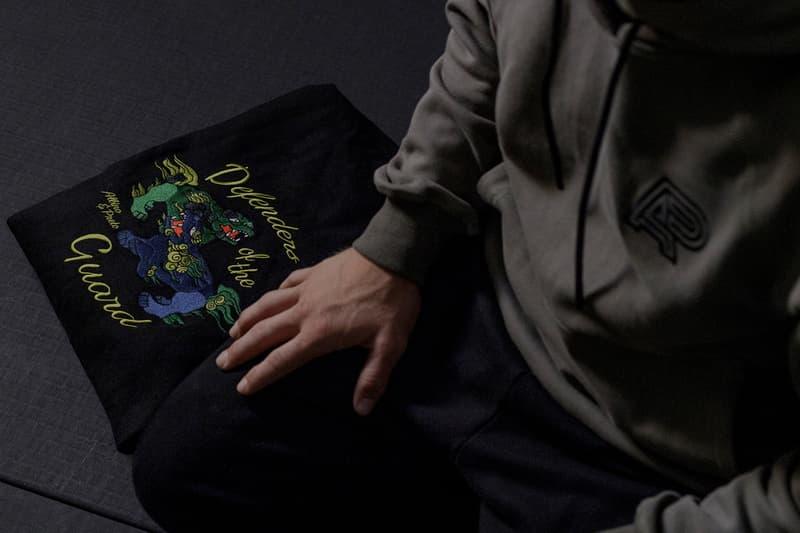 Albino & Preto x Kuumba Defenders of the Guard Capsule A&P Kimono incense Tokyo Japan BJJ Jiu Jitsu