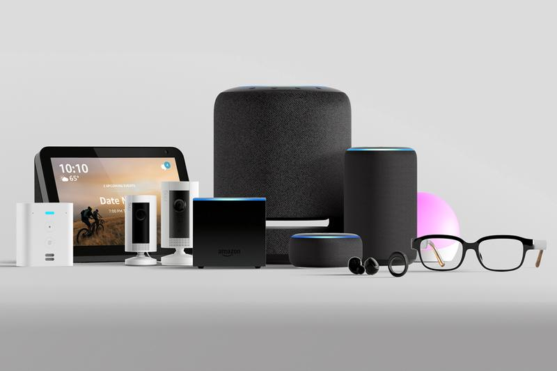 Amazon Fall 2019 Hardware Event Announcements Alexa Echo Loops Echo Buds Samuel L. Jackson