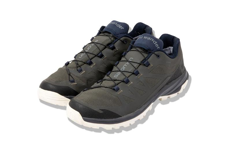 and wander x Salomon Outpath GORE-TEX Collaboration sneaker shoe gtx colorway september october 2019 release date drop buy japan