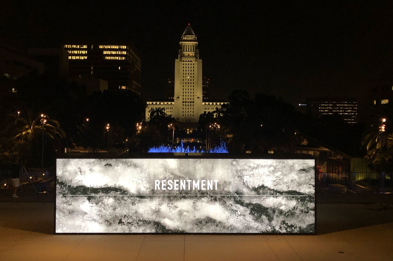 Annenberg Space for Photography walls defend divide divine los angeles musuem