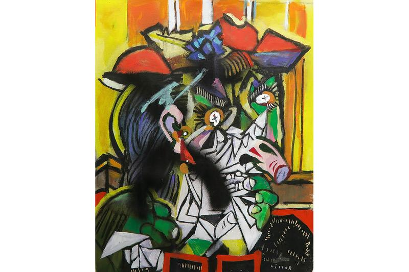 "Anthony Lister ""Modern Masters"" Solo Exhibition Abstract Modern Picasso"