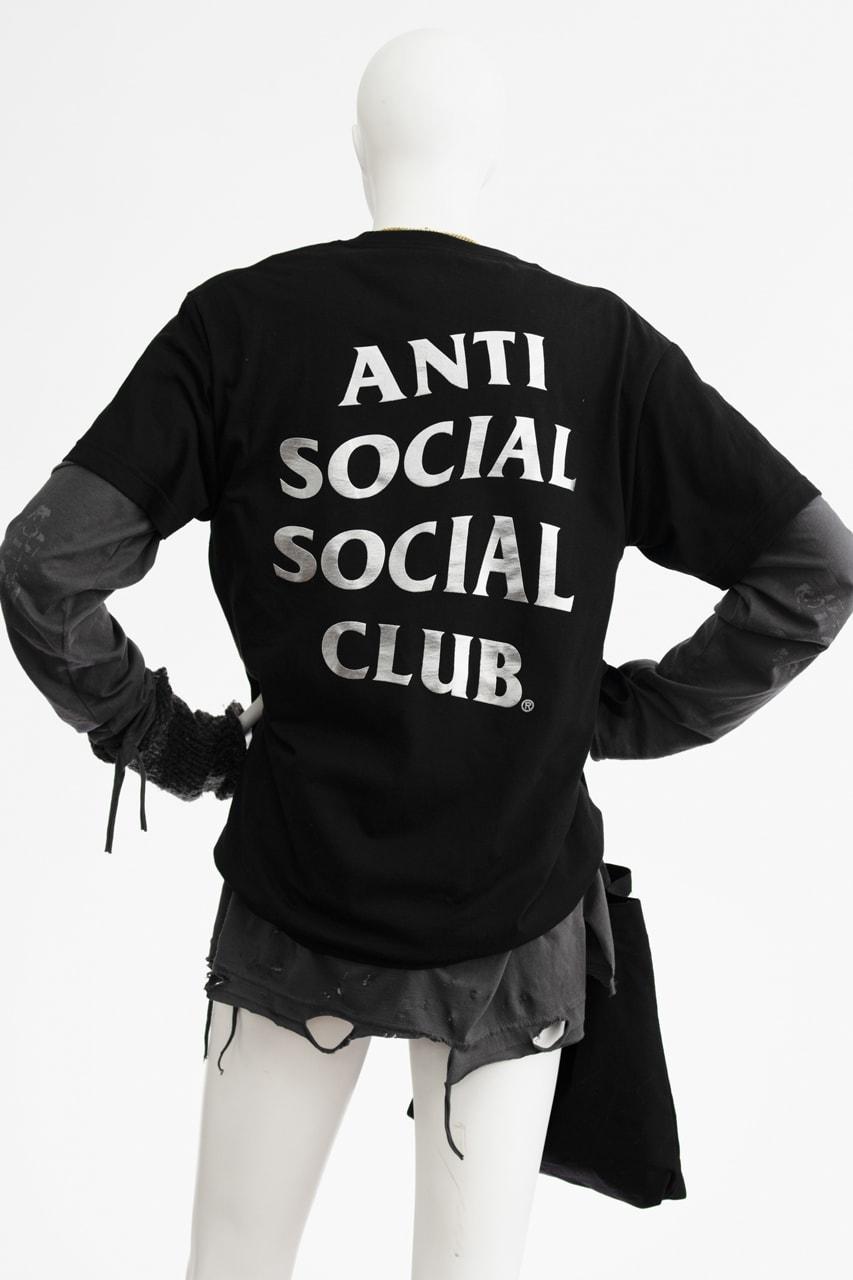 Anti Social Social Club ASSC FW19 FEELING ANXIOUS FOR NO REASON Lookbook 2019