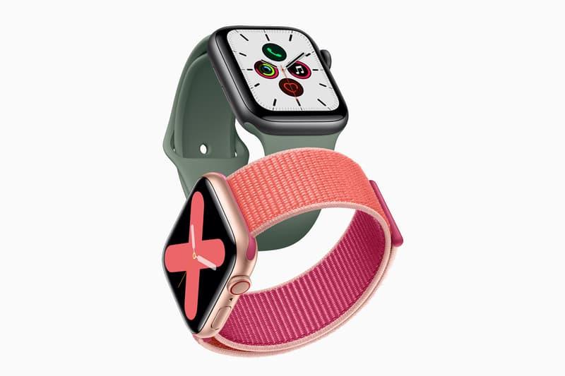 Apple Watch Series 5 Updated Titanium Always-On Display September 20
