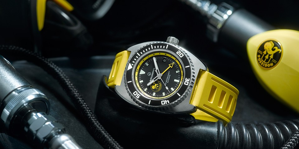 Aquadive Joins Forces with Poisedon Diving Systems for Limited-Edition Watch