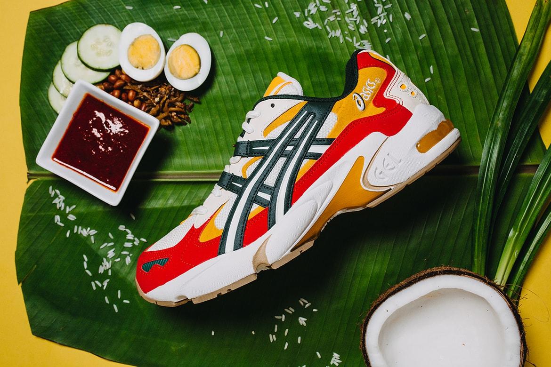 "ASICS Malaysia GEL-Kayano 5 OG ""Nasi Lemak"" Shoe | HYPEBEAST"