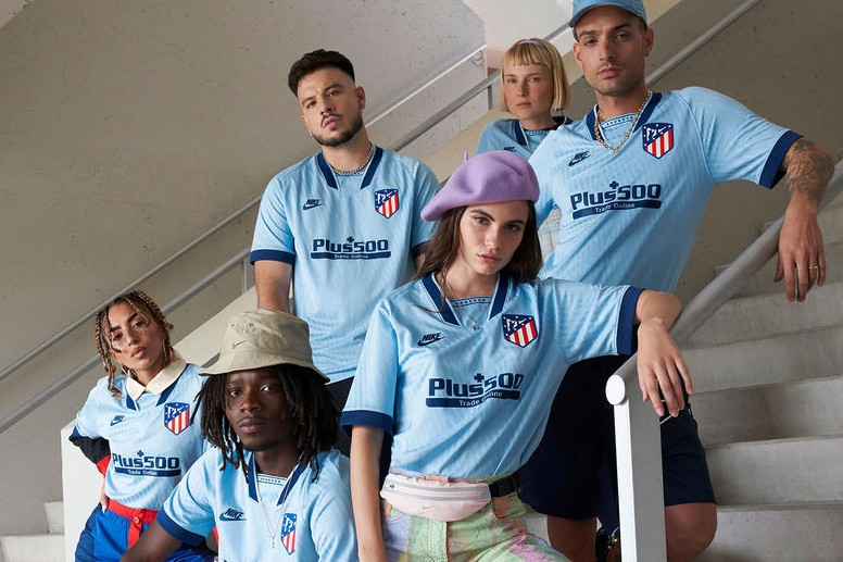 Nike Extends Retro Influence With Atletico Madrid Third Kit