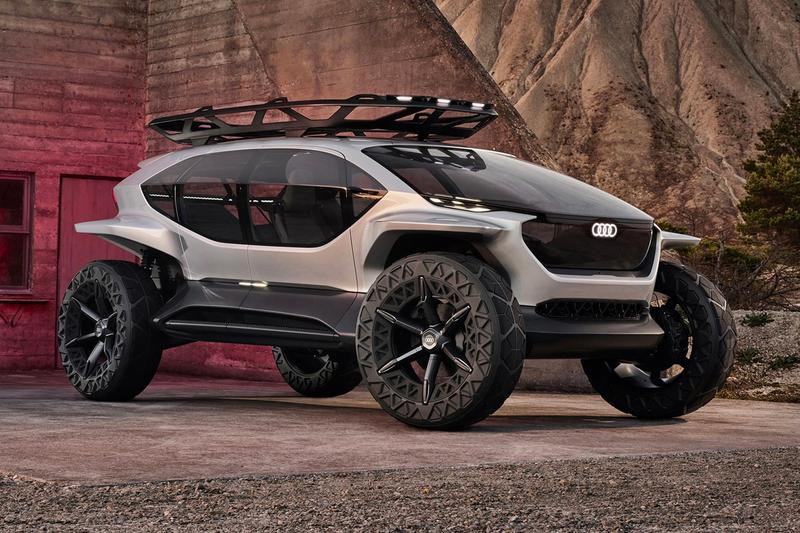 audi ai trail autonomous off road concept car electric vehicle EV frankfurt motor show 2019