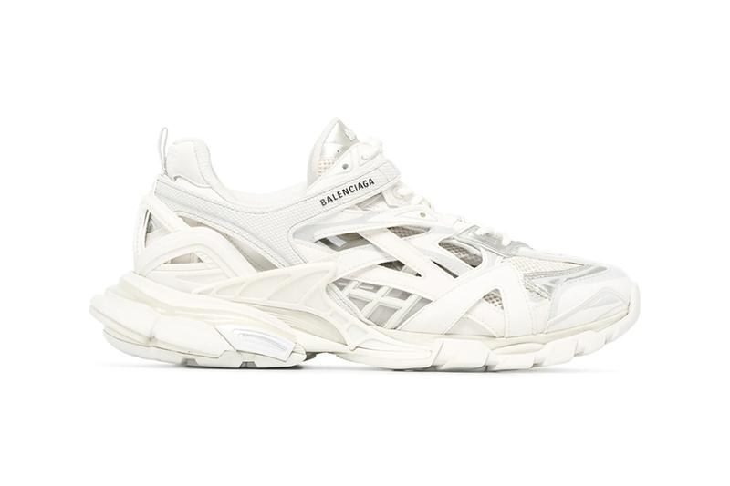 Balenciaga Track 2 track2 trainers Low Top Sneakers black red white colorway release fall 2019